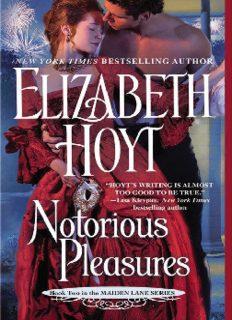 Notorious Pleasures (Maiden Lane)