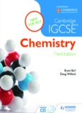 Cambridge IGCSE Chemistry by Bryan Earl and Doug Wilford