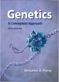 Genetics : a conceptual approach