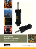 Heavy Duty Hydraulic Cylinders - Delafield Fluid Technologies