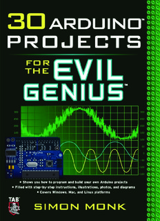 30 Arduino™ Projects for the Evil Genius - Department of Control