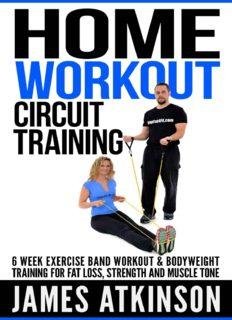 Home workout circuit training 6 week exercise band workout & bodyweight training