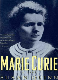 Marie Curie : a life