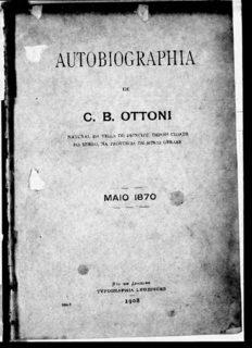 AUTOBIOGRAPHIA c. B. OTTONI w