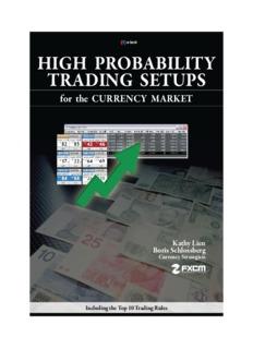 HIGH PROBABILITY TRADING SETUPS - Forex Trading Room