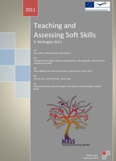 Teaching and Assessing Soft Skills