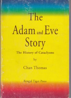 The Adam and Eve Story : The History of Cataclysms