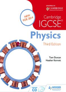 Cambridge IGCSE Physics – Duncan, Tom [SRG]