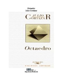 Octaedro Julio Cortázar