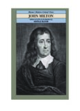 John Milton (Bloom's Modern Critical Views)