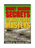 """Money Making Secrets of Mind Power Masters"""