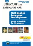 Holt English Language Development. Guide to English for Newcomers