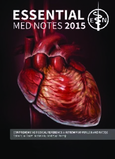Toronto notes 2015 : comprehensive medical reference and review for the Medical Council of Canada Qualifying Exam part 1 and the United States Medical Licensing Exam step 2