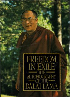 Freedom in exile : the autobiography of the Dalai Lama.