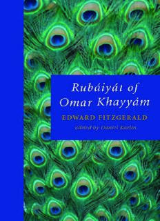 Rubaiyat of Omar Khayyam (Oxford World's Classics)