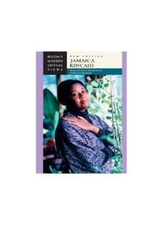 Jamaica Kincaid (Bloom's Modern Critical Views), New Edition
