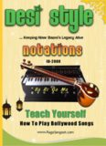 Bollywood Songs Notations In Sa Re Ga Ma eBook ID-2000 Play with Harmonium