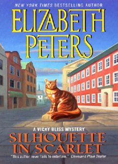 Silhouette In Scarlet: A Vicky Bliss Mystery