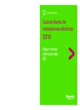 Guía de diseño de instalaciones eléctricas - Schneider Electric