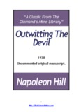 Outwitting The Devil – 1938