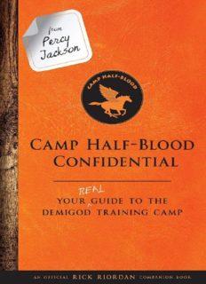 Percy Jackson Camp Half-Blood Confidential by Rick Riordan