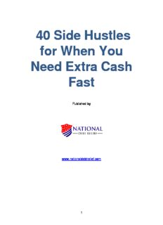 40 Side Hustles for When You Need Extra Cash Fast