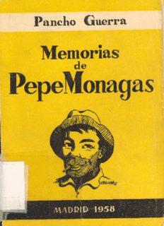 Memorias de Pepe Monagas