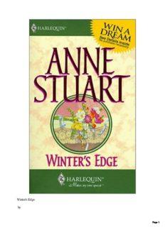 Winter's Edge (Dangerous Men, Book 7) (Harlequin Intrigue Series #329)