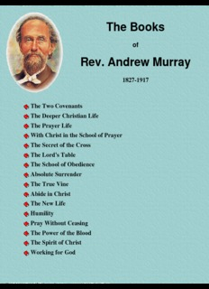 The Books of Andrew Murray