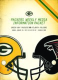Packers Dope Sheet for the Packers at Falcons NFC Championship game