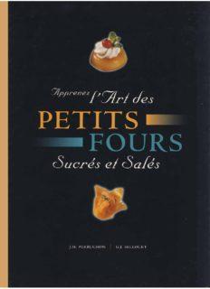 Apprenez lart des petits fours sucr#s et sal#s