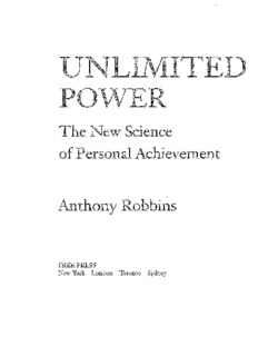Unlimited Power The New Science Of Personal Achievement.pdf