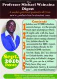 Professor Michael Wainaina Digest