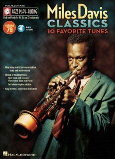 Miles Davis Classics: Jazz Play-Along Volume 79