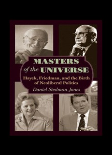 Hayek, Friedman, and the Birth of Neoliberal Politics