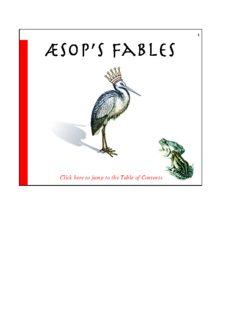 Aesop's fables : with a life of Aesop