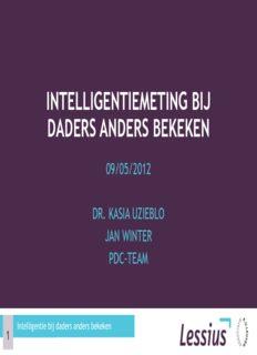 IQ-scores Wisc-III KAIT