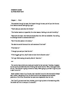 Card, Orson Scott - The Ender Saga - 6 Books