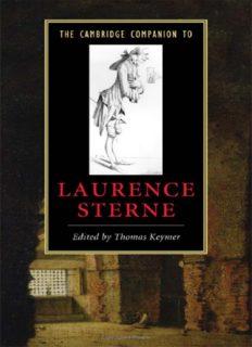 The Cambridge Companion to Laurence Sterne (Cambridge Companions to Literature)