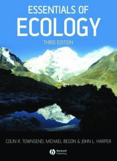 Essentials of Ecology (Third Edition)