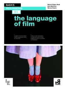 Basics Film-making: The Language of Film
