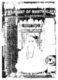 Sri Raghavendra the Saint of mantralaya by Kaallur Gundacharya