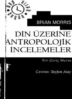 Din Üzerine Antropolojik İncelemeler - Brian Morris