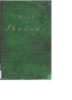 Book of Shadows - Scott Cunningham - WitchCircles.com