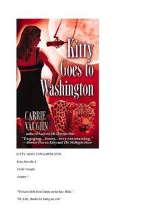 Kitty Goes to Washington (Kitty Norville Series, Book 2)