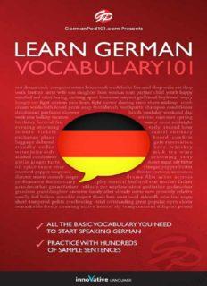 Learn German - Word Power 101