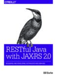 OReilly RESTful Java with JAX-RS 2.0 2nd