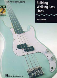 Building Walking Bass Lines (Bass Instruction)