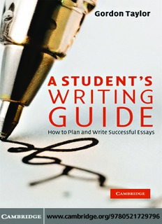 A Students Writing Guide How to Plan and Write Successful Essays.pdf