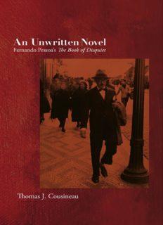 An unwritten novel : Fernando Pessoa's The book of disquiet